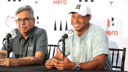 Tiger Woods,Pawan Munjal, Hero World Challenge