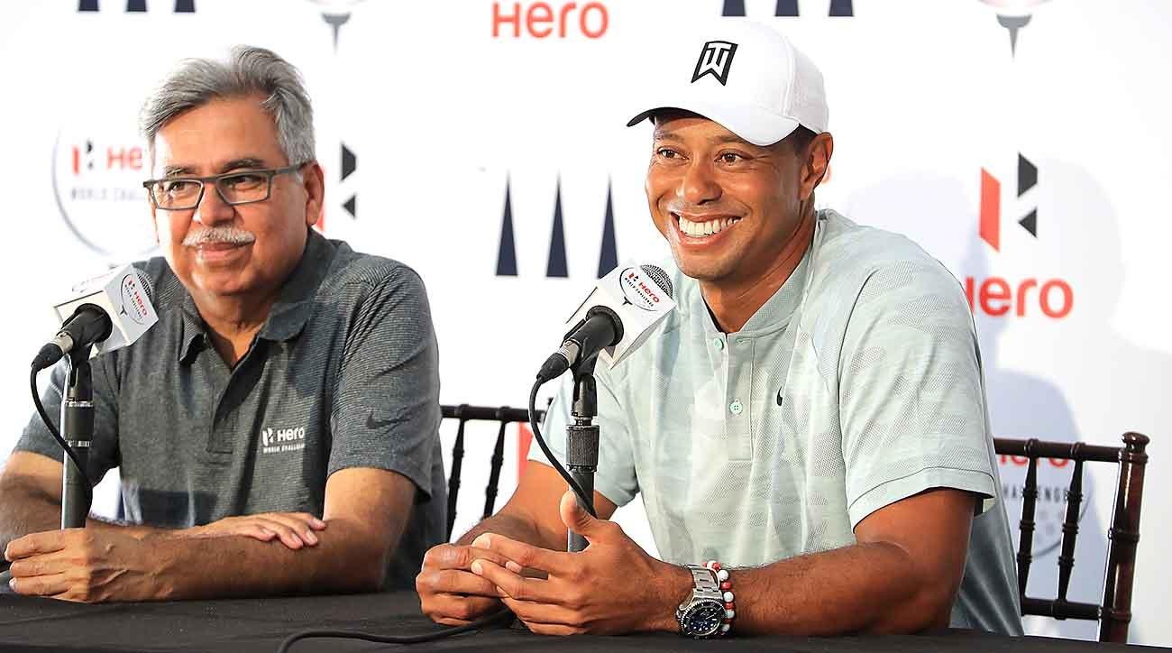 Tiger Woods,Pawan Munjal, Hero World Challenge