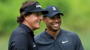 Tiger Woods and Phil Mickelson finally square off on Friday at Shadow Creek.