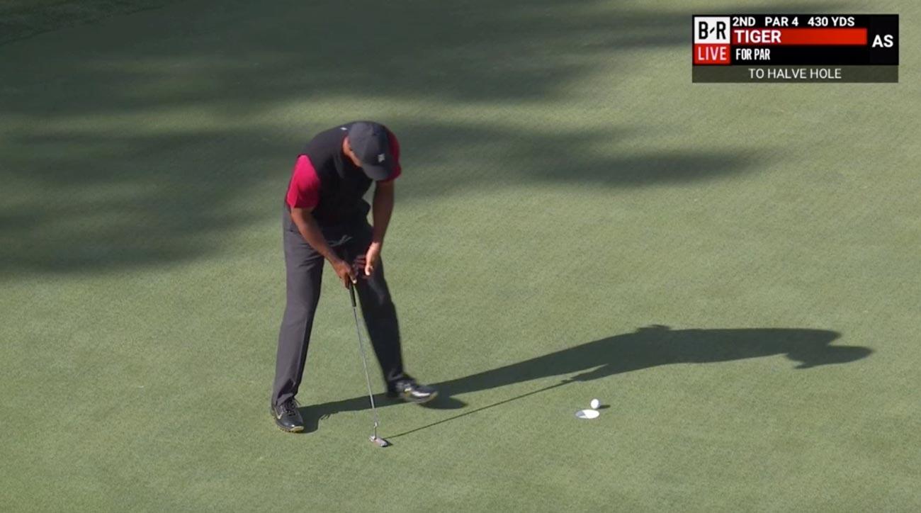 Tiger Woods Putt