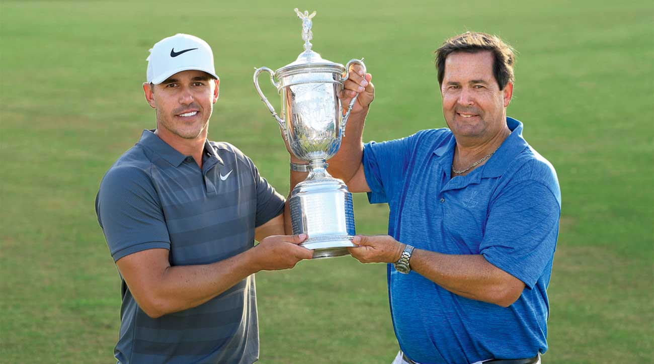 Brooks Koepka and his dad, Bob Koepka.