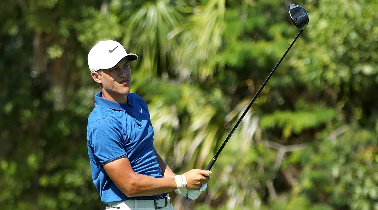 Cameron Champ broke his Ping G400 Max driver before the final round but still managed to win his first Tour title.