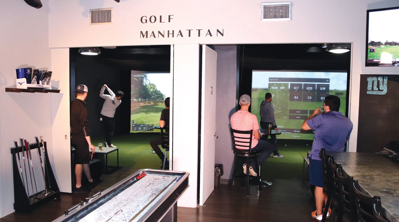 Golf Manhattan in New York City.