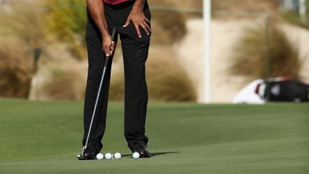 Here's how Tiger Woods prepares for a tournament round.