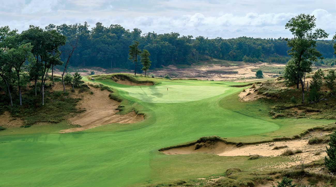 Mammoth Dunes at Sand Valley's 10th hole.