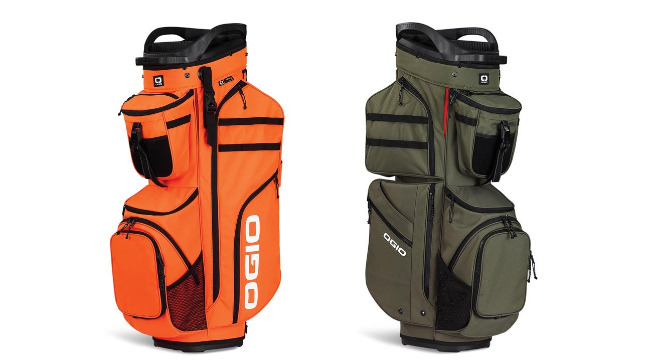 The Ogio Alpha Convoy 514 golf bag comes in several color options.