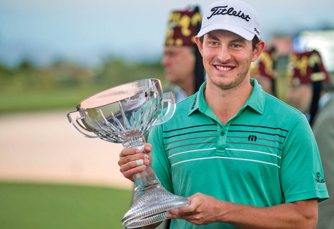 Patrick Cantlay Captured His First Tour Win At The 2017 Shriners Hospitals For Children Open