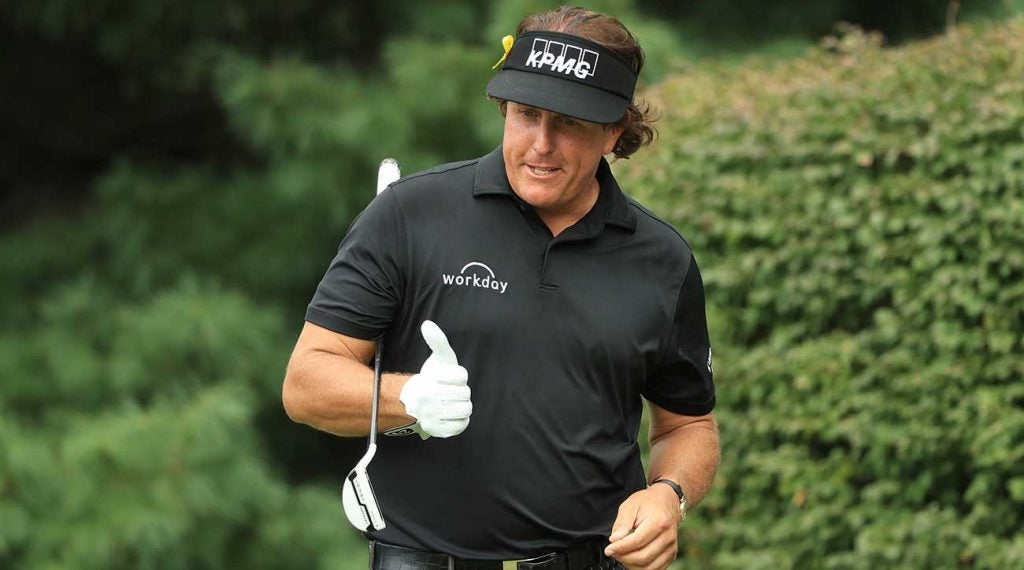 Phil Mickelson, 48 years old