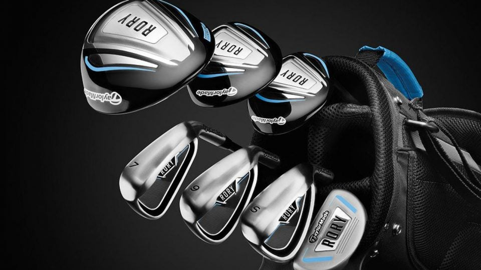 TaylorMade's new Rory McIlroy Junior Sets feature a full line of clubs for young golfers.