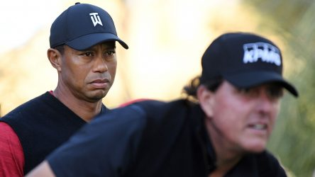 Tiger Woods has been impressed by what he has seen from Phil Mickelson of late.