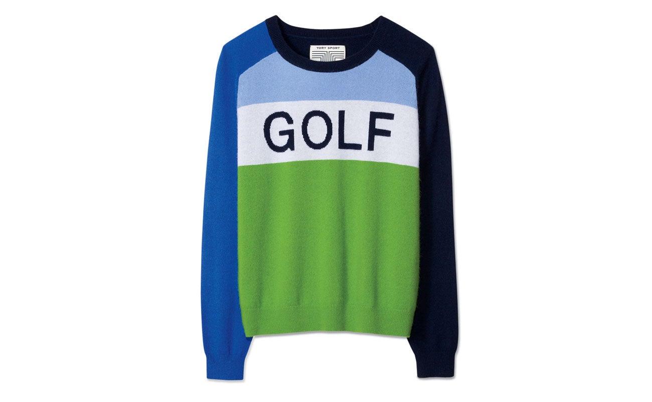 "Tory Sport ""Golf"" Sweater."