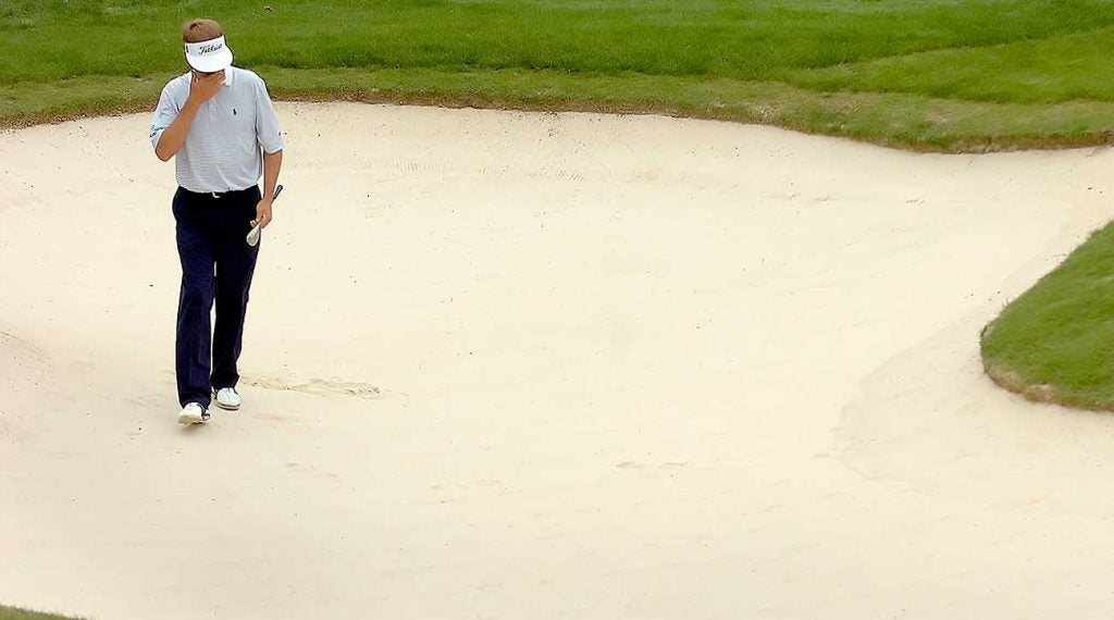 2019 rules of golf, bunkers