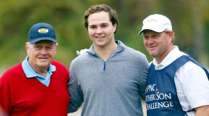 Jack Nicklaus and his grandson GT finished sixth in Orlando.