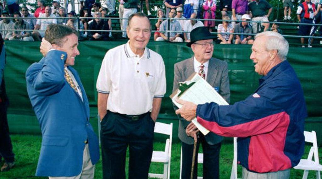 Photos Of George H W Bush Enjoying The Game Of Golf