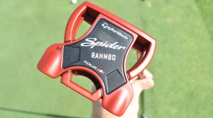 Jon Rahm won with a TaylorMade Spider Tour Red putter in the bag.
