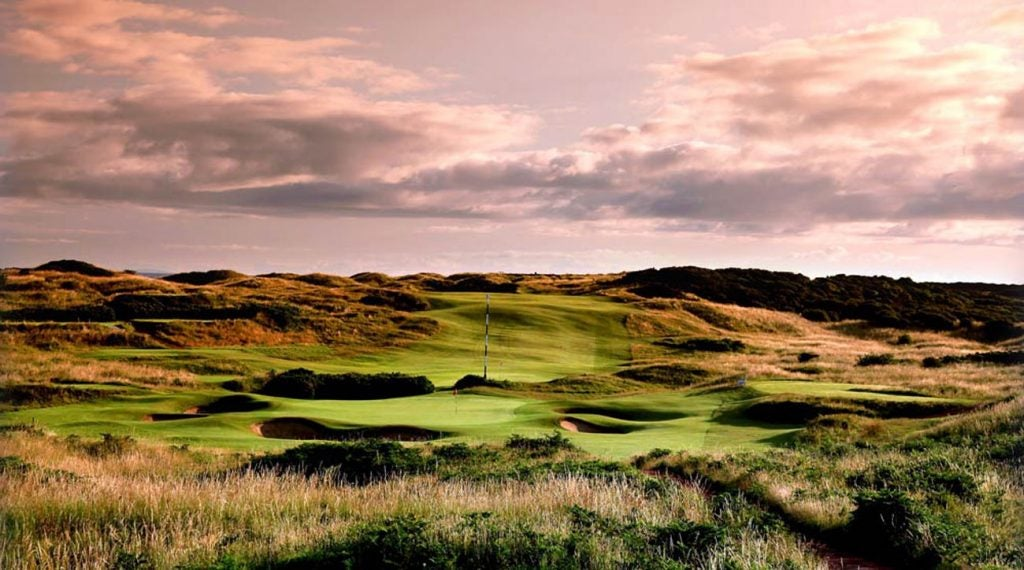 A majestic view of 2019 Open host, Royal Portrush.