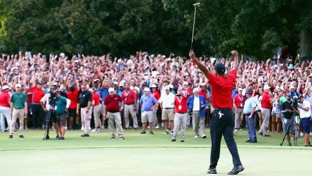Tiger Woods wins 2018 Tour Championship