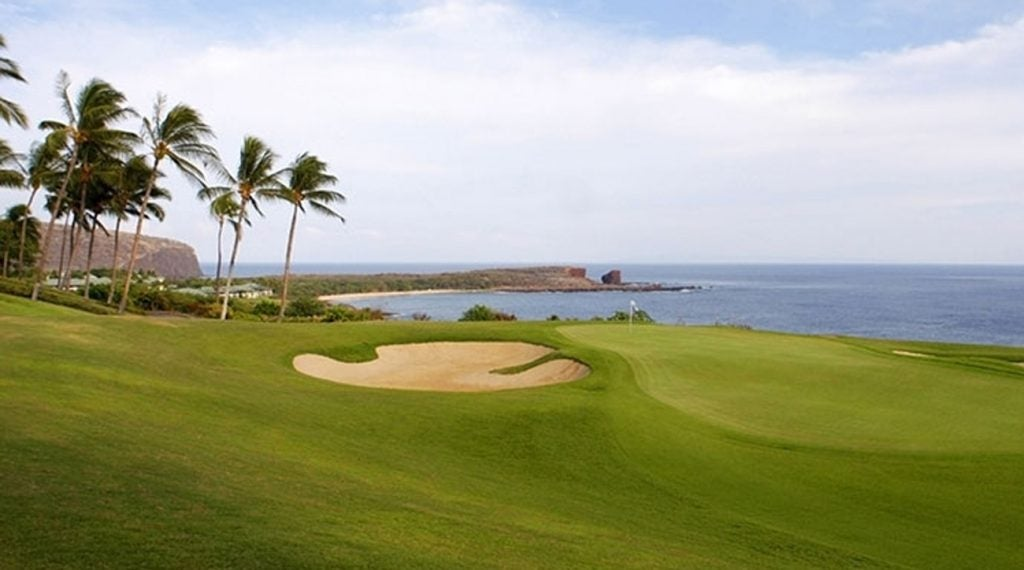 Manele is one of Jack Nicklaus' golf courses in Hawaii.