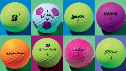 Read all about these eight top golf ball models offered in a range of colors below.