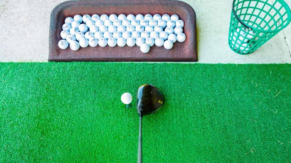 Can hitting too many balls on the range damage your driver? Not likely.