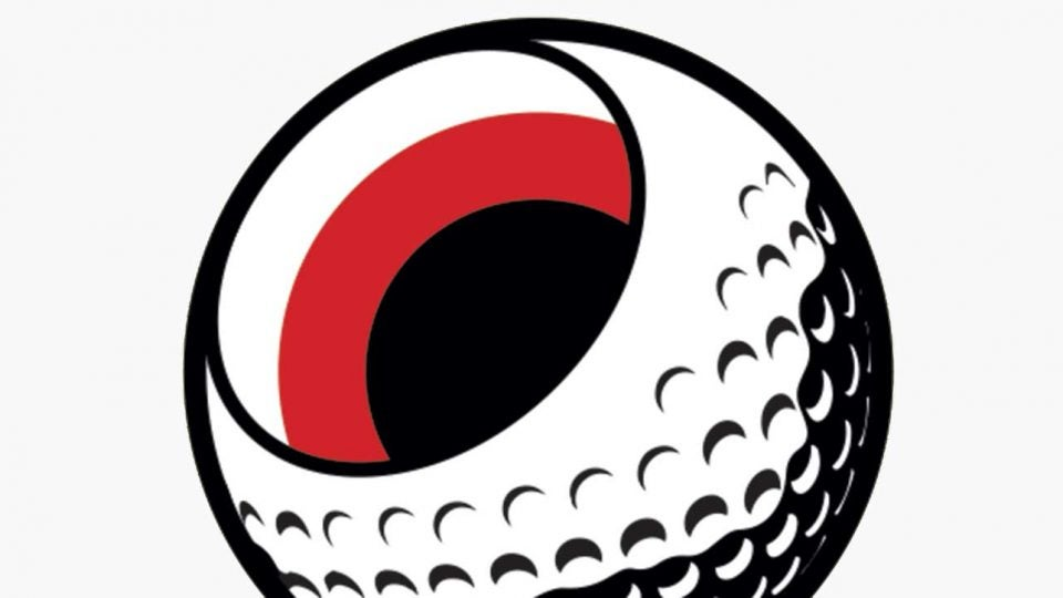 An illustration of the inside of a golf ball.