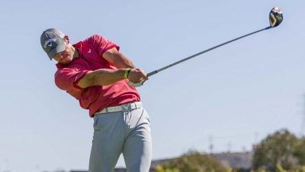 "Jeff Flagg won the 2014 Wolrd Long Drive Championship with a 48"" driver shaft."