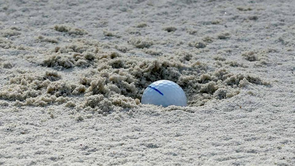 A plugged bunker lie like this one doesn't need to ruin your round.