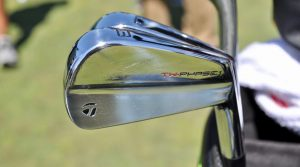 Tiger Wood switched to a set of TaylorMade TW Phase1 irons this year
