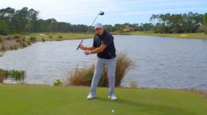 Top 100 Teacher Tom Stickney demonstrates a tip that will fix your driver distance issues.