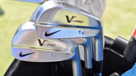 Tommy Fleetwood will need a replacement set for his Nike VR Pro blades at some point.