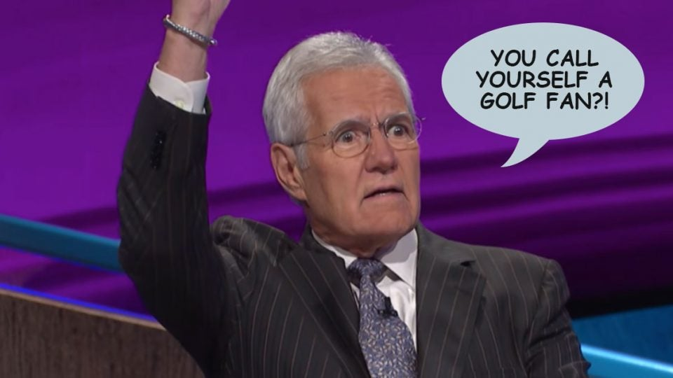 Alex Trebek, in his 35th season as Jeopardy quizmaster, is not easily impressed.