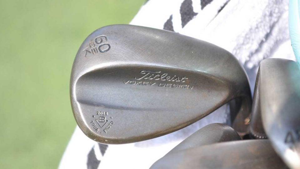 Patton Kizzire's Titleist Vokey Design SM7 lob wedge.