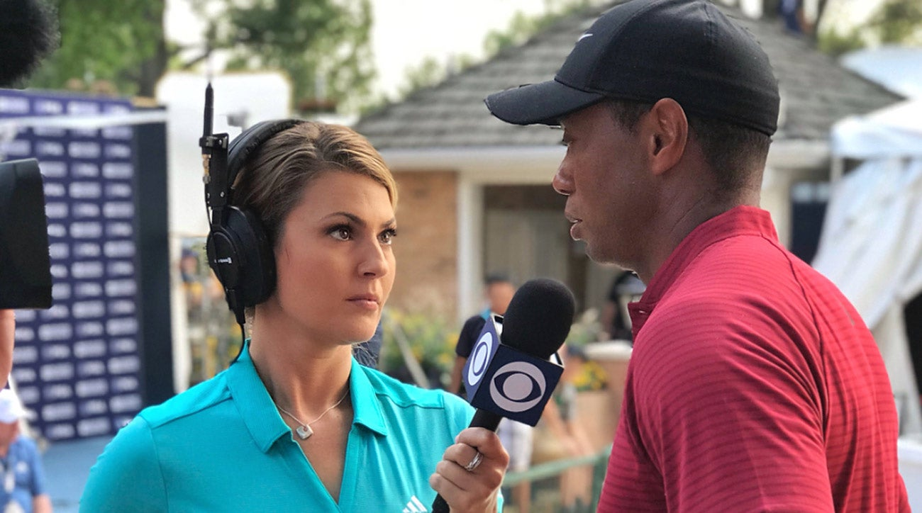 8 Questions With Cbs Sports Broadcaster Amanda Balionis
