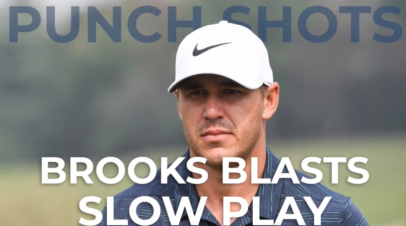 brooks koepka slams the pace of play in professional golf