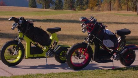 The FinnCycle electric golf cycles made waves at Demo Day 2019