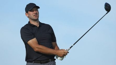 Tony Romo can be frequently seen playing golf when not calling football games for CBS.