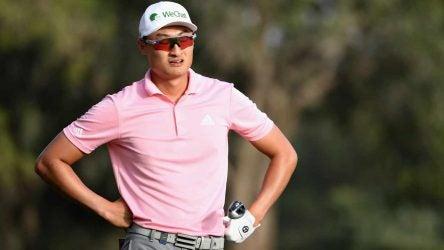 Haotong Li Golf Rule penalty