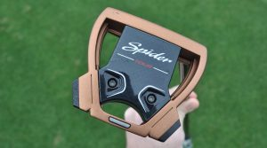 TaylorMade's new Spider X mallet putter offers a slimmed down profile compared to the original Spider.