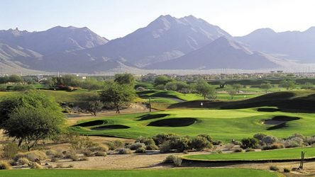 The Stadium Course at TPC Scottsdale has played host to the Waste Management Phoenix Open since 1987.