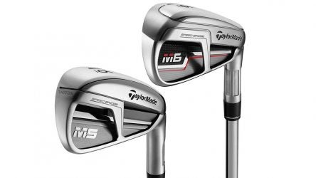 TaylorMade M5 and M6 irons.