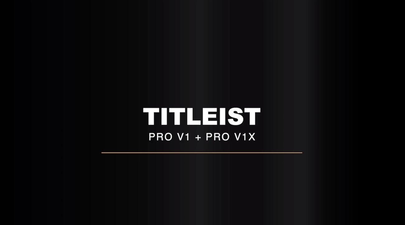 Titleist Pro V1 and Pro V1x