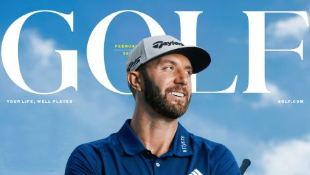 The new-look February issue of GOLF is now on newsstands.