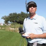 """Jim """"Bones"""" Mackay has worked as an on-course reporter since he split with Phil Mickelson."""