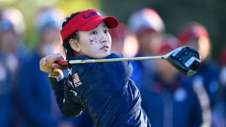 Lucy Li played on the U.S. team at the 2018 Junior Ryder Cup.