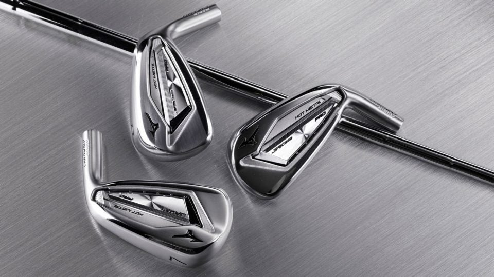 The new Mizuno JPX 919 Hot Metal Pro irons