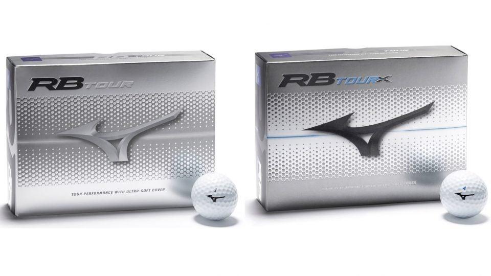 The new Mizuno RB Tour and RB Tour X golf balls