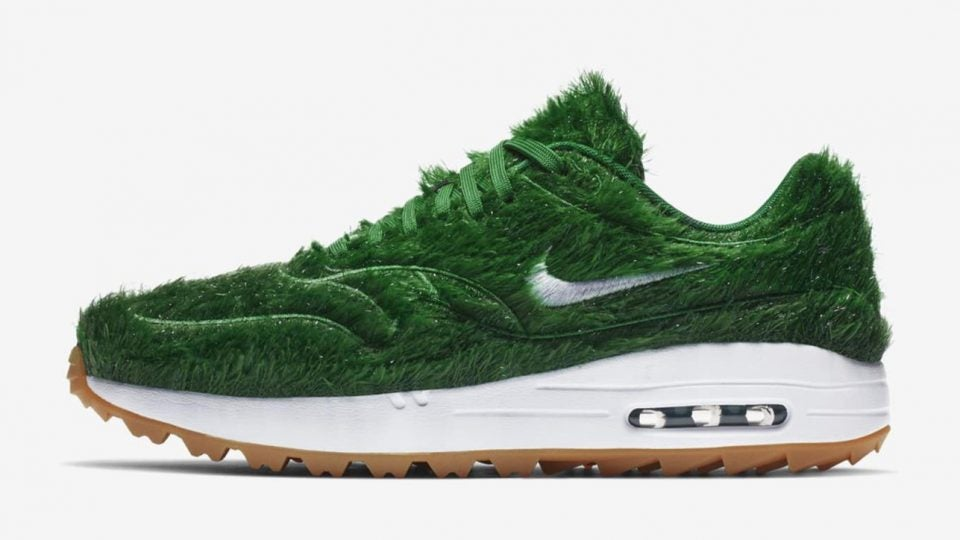 5567d3bbe5 PHOTOS: Nike set to release Air Max 1 Golf 'Grass' sneakers inspired ...
