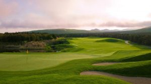 A view of the 11th hole at Blackstone Golf and Resort in South Korea.