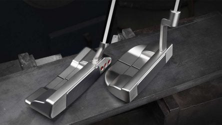 A look at the Scotty Cameron Select Squareback 1.5 (left) Select Fastback 2.
