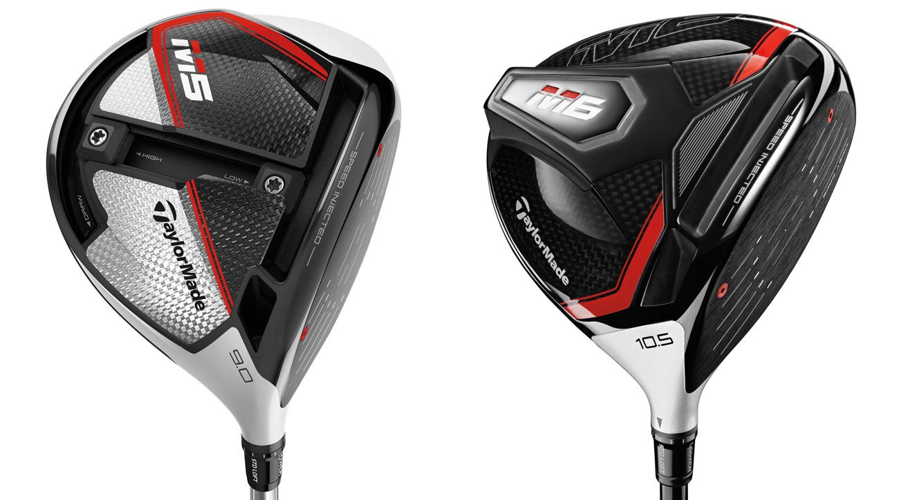 FIRST LOOK  TaylorMade M5 and M6 drivers b403b933e873